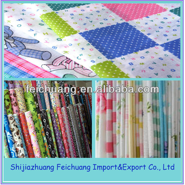 hot selling Japanese 100 Cotton Printed Muslin Fabric wholesale