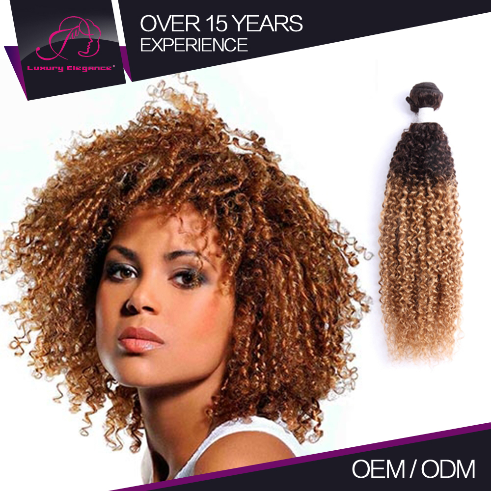 Top Quality Human Hair Weave Jerry Curl T227 Hair Color With Price