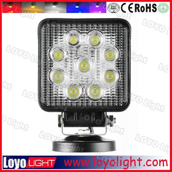 Top sale 27w commercial electric led work light for pickup trucks top sale 27w commercial electric led work light for pickup trucks utv van camper suv 12v mozeypictures Choice Image