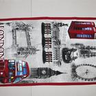 Exquisite London souvenir kithcen tea towel
