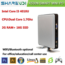 intel i3 4010u 8GB RAM 500GB HDD PC mini desktop computer win dows thin client With high-powered CPU