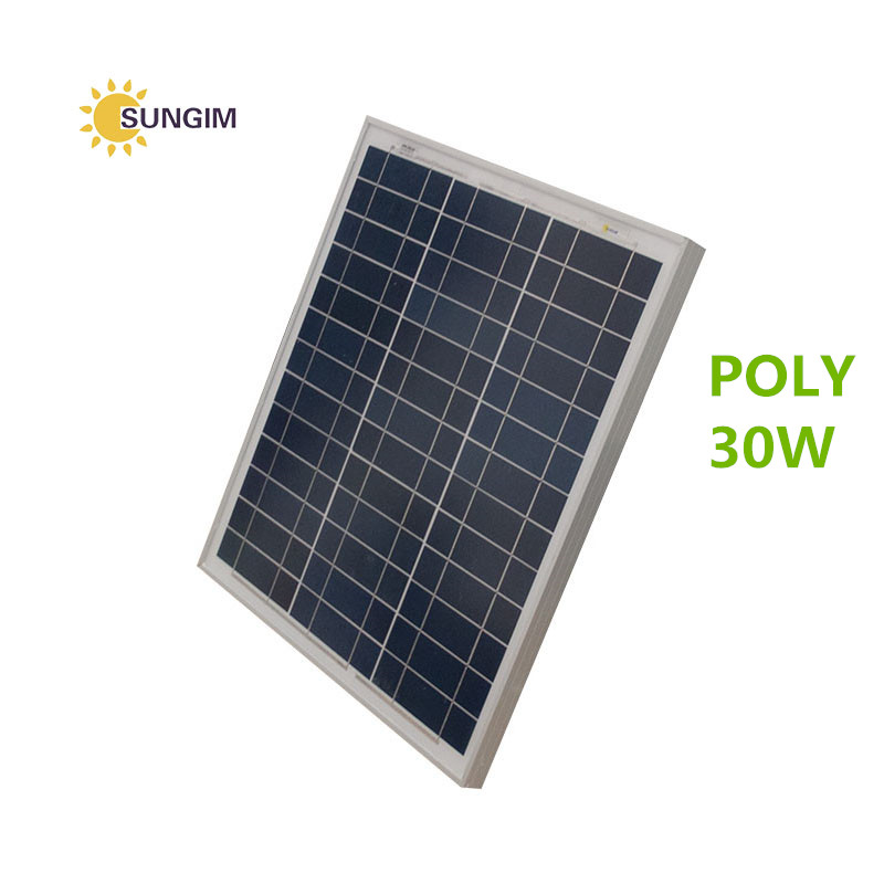 30w polycrystalline silicon solar cells <strong>panel</strong> with wholesale cheap price