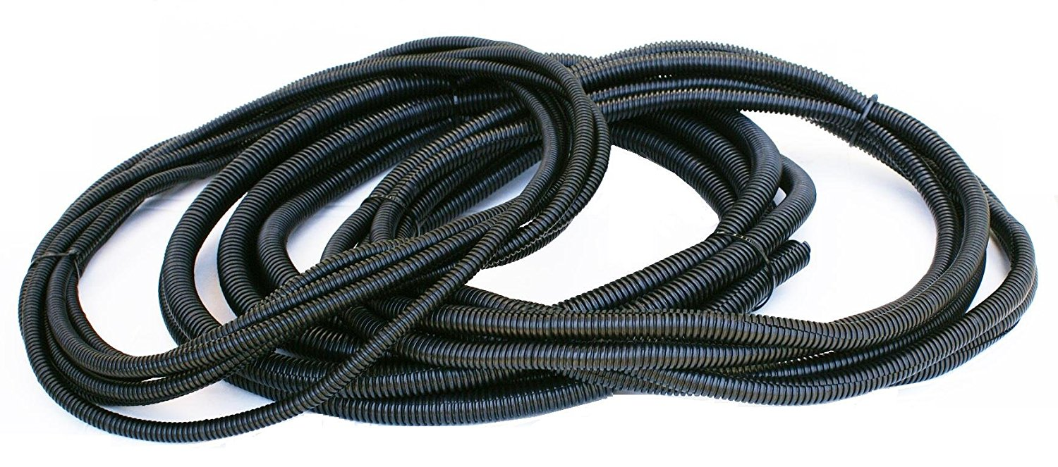 "DNF Split Loom Tubing 1/2"" 1/4"" 3/8"" x 60 FT- SLT12,14,38(20FT Each)"