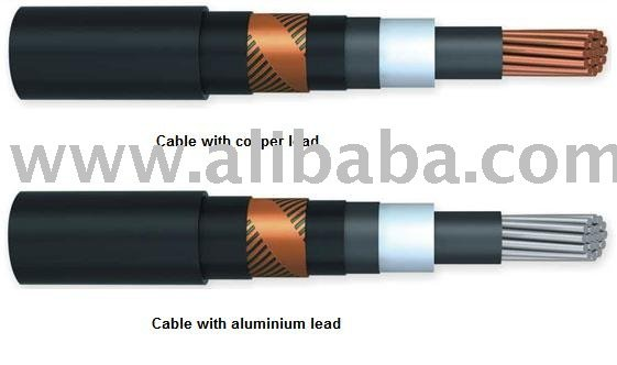 Power Cables with insulation of PVC sheathing type PvsEV voltage 6, 10, 35 kV