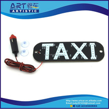 neon taxi top lamp and advertising screen,led signs