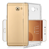 For Samsung c9Pro Transparent Mobile Phone Case tpu Soft Shell Drop Protect Cover Waterproof Stealth