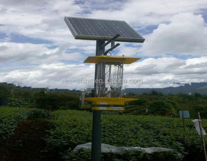 Intelligent High Efficient UV lamp Solar Frequency Insect Killer