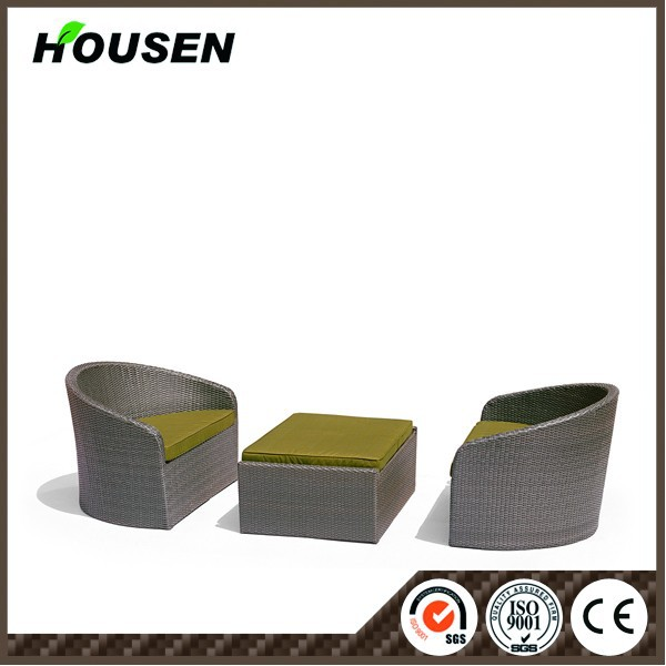Outdoor furniture plastic bamboo outdoor furniture HS-41-ZXGS-217