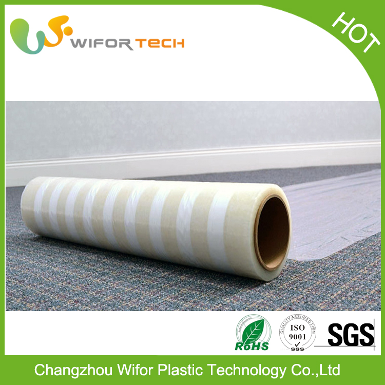 Black And White Transparent Mdpe Pe Protective Film