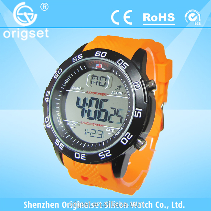 multi-function good quality digital watches customs logocolorful digital watches