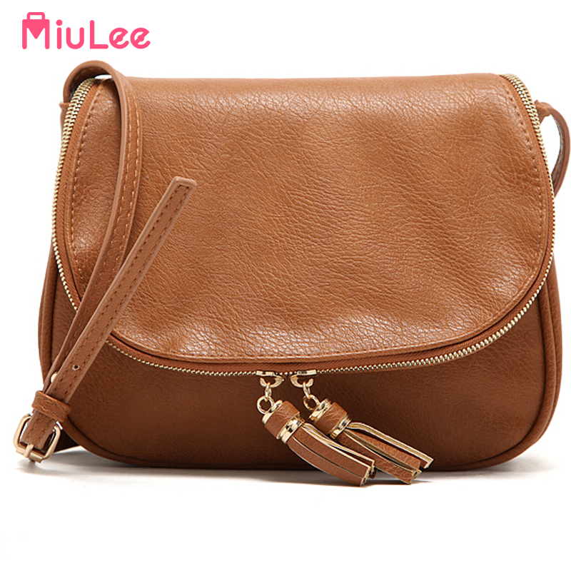 Hot Sale Tassel Women bag Leather Handbags Cross Body Shoulder Bags Fashion Messenger Bag 5 Colors