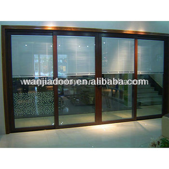 Sliding glass doors with built in blinds buy sliding - Exterior glass door with built in blinds ...