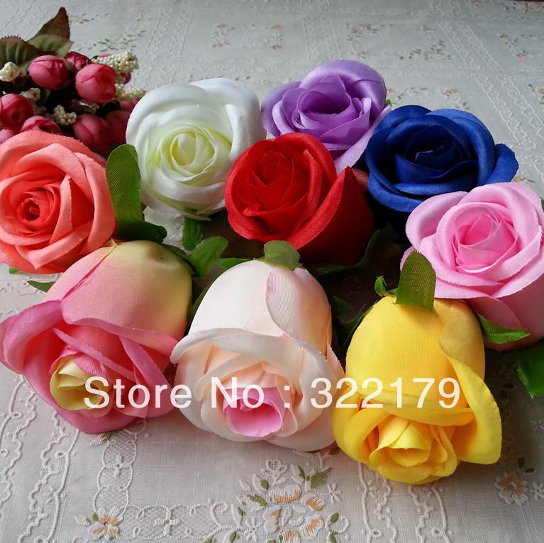 buy 10x silk flower heads bulk 8cm artificial rose heads wedding decoration. Black Bedroom Furniture Sets. Home Design Ideas