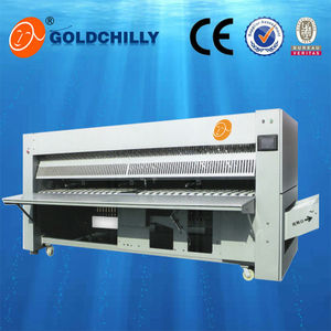 Laundry equipment clothing & bedsheet folding machine
