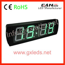 Display 4 digit 7 segment indoor digital led timer