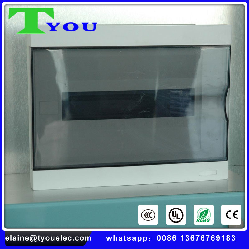 High quality mcb surface and flush type waterproof ABS PP DMC SMC material distribution box