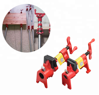 Standard Heavy duty Pipe clamp 3 / 4 Woodworking with Rubber
