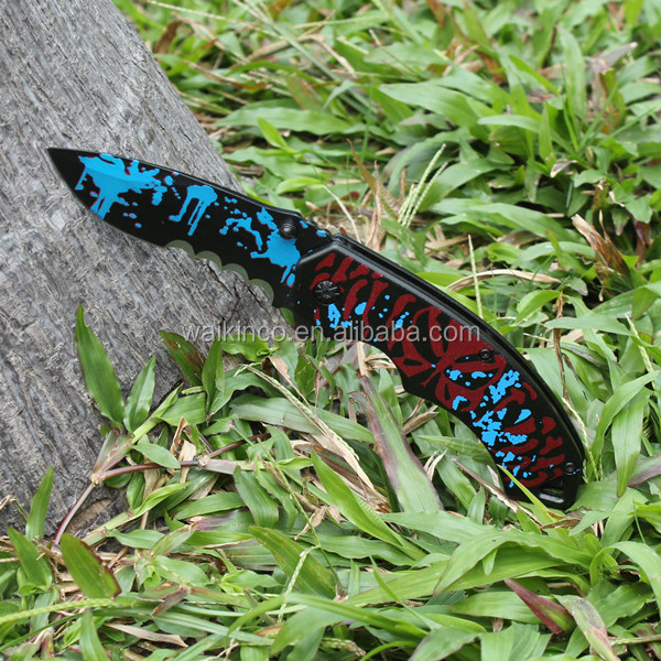 2016 New Unique Design Stainless Steel Outdoor Activity Pocket Knife