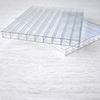 100% Makrolon PC Resin 10-16mm Triple Wall Translucent Polycarbonate Sheet