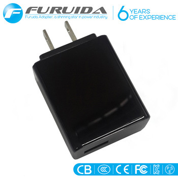 2.4A USB Mains Charger AC Plug For Tablets