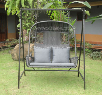 2 Seater Garden Hanging Chair Buy Rattan Wicker Hanging Chair With