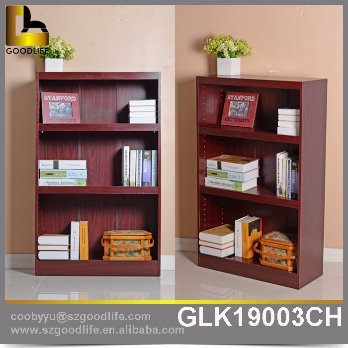 Goodlife hot sell the wooden bookshelf desigh with competitive price