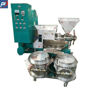 Automatic diesel engine coconut oil making machine