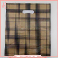Yiwu factory wholesale coffee grid pattern printing recyclable packaging patch bag.silver packaging bag