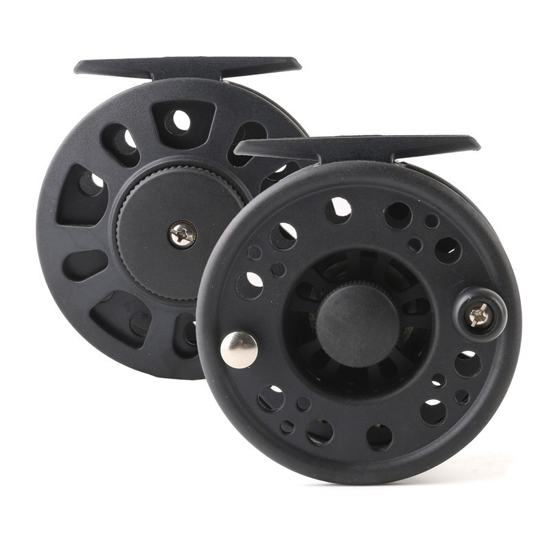 Super light plastic graphite Chinese fly fishing reel