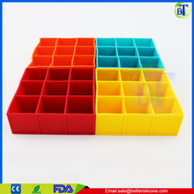 Silicone Ice Shot Glass Mold 9 cubes Square Ice Cube Tray