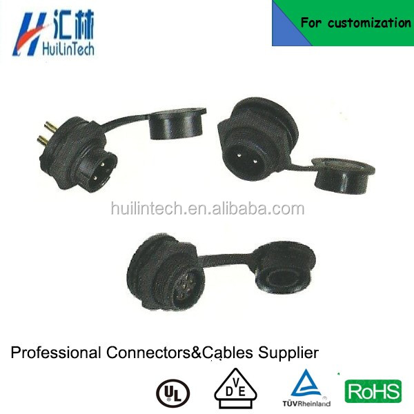 PG bayonet cable low voltage IP67 electrical receptacle connector Z108