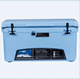 large size cheap cooler box 75L camping insulation ice chest with lock