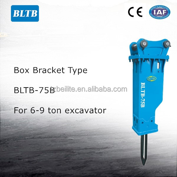 BLTB-75 High Quality Excavator Rotary Rock Breaker Hammer