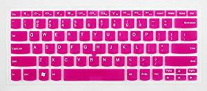 HYAIT 1Pcs Colorful Silicone Keyboard Protector Skin Cover for ThinkPad E30 E31 E40 E420 E420S E425 E50 Edge E13 E320 E325 S420 SEMI-ROSE