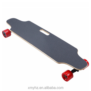 400w*2 hub motor remote control 4 wheels electric long board for sale(YHZ-SYL-04-01)