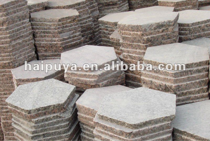 Captivating Granite Hexagon Paver   Buy Hexagon Paver,Hexagon Paver Stone,Granite  Flagstone Pavers Product On Alibaba.com