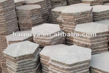 Delicieux Granite Hexagon Paver