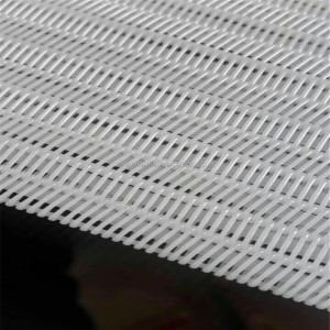 wholesale high quality polyester spiral belt filter press cloth for Sludge dewatering and industrial filtration