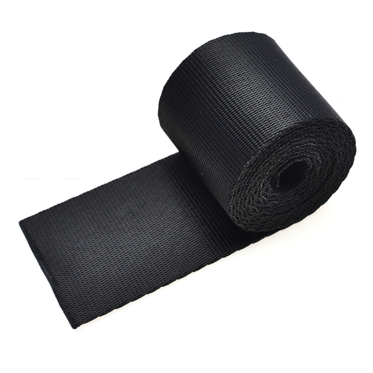 Webbing Manufacturers Heavy Duty Stretch Striped Webbing Tape With High Elastic Yarn