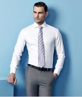 Top Brand White Business Men Fancy Dress Office Shirt