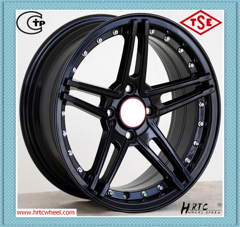 cool design competitive price 3 piece wheels forged alloy wheels forged 3 piece wheels factory