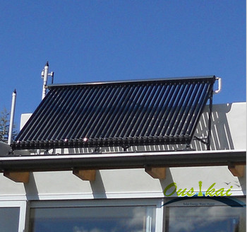 Slope Roof Solar Energy Vacuum Collector, Heat Pipe Solar Collector