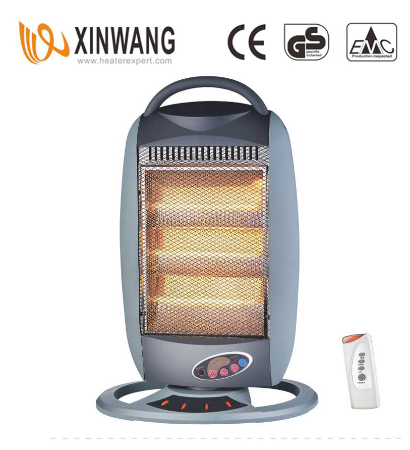 Halogen Heater With Remote Controlled NSB-120AR