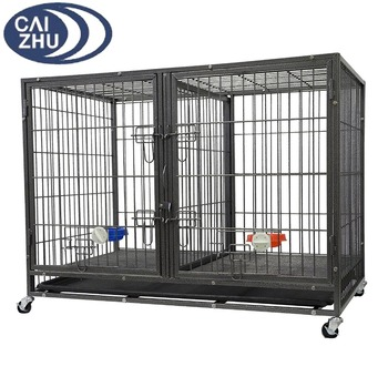 44 Heavy Duty Stackable Cat Dog Crate
