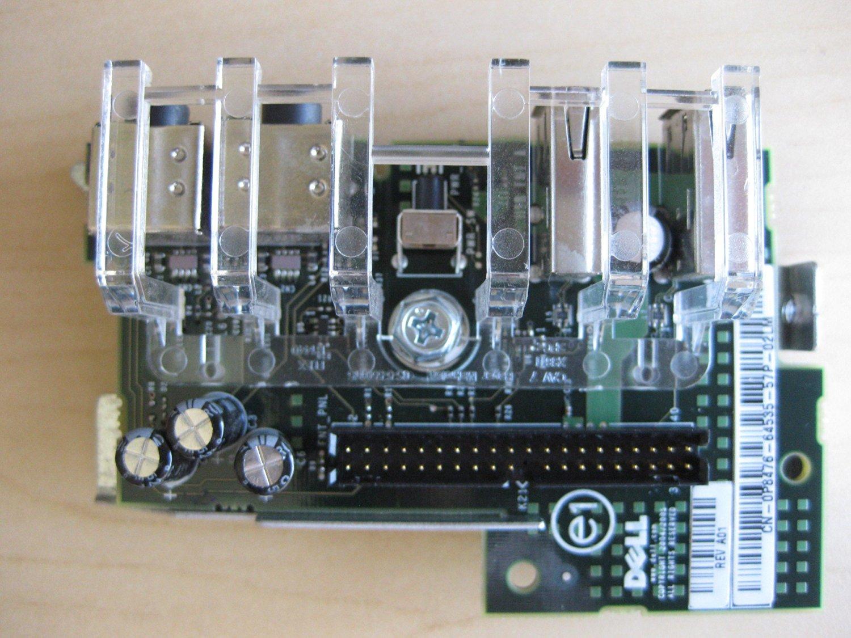 Dell Optiplex GX620 Desktop USB Audio I/O Control Panel Board 13740-67Q-03P4 0MJ047