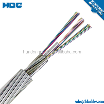 12 Core Adss Centracore Alumacore Optical Ground Wire - Buy ...