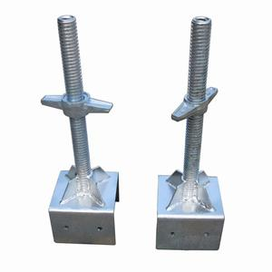 Scaffolding Parts Type and jack base Scaffolding Part hollow/ solid/swivel screw base jack