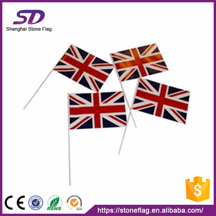 High Quality Wholesale Popular Customized Cheering Hand Flags