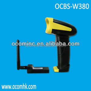 USB,RS232,PS/2 1800mA long working hours wireless barcode scanner with memory