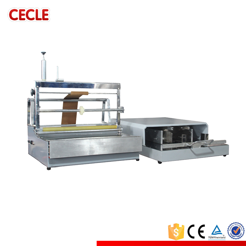 Cellofaan overwrapping machine, parfum doos cd DVD cosmetische thee doos wrapping machine, parfum verpakkingsmachine